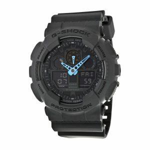 Đồng hồ nam Casio G Shock Grey Dial Resis GA100C-8ACR