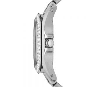Đồng hồ nữ mặt đồng hồ bạc đa chức năng Fossil Riley ES3202