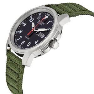 Đồng hồ nam Citizen Strap Eco-Drive 180 Day-Date BM8180-03E