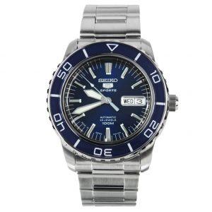 Đồng hồ Seiko nam Fifty Five Fathoms Series Automatic Blue Dial SNZH53J1