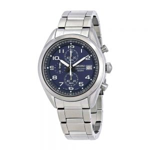 Đồng hồ đeo tay nam Seiko Neo Sports Chronograph Blue Dial SSB267P1
