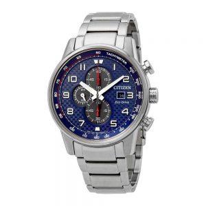 Đồng hồ nam Citizen Primo Chronograph Blue Dial CA0680-57L