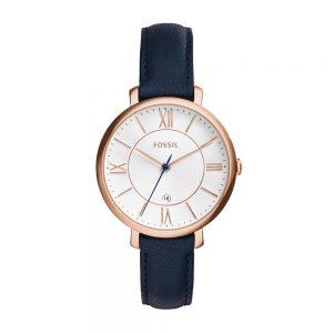 Đồng hồ đeo tay nữ màu bạc Fossil Jacqueline ES3843