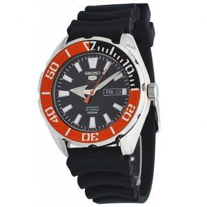 Đồng hồ Seiko nam 5 Sports Automatic Black Dial SRPC59
