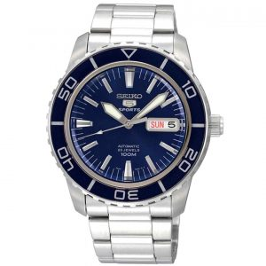 Đồng hồ nam Seiko Fifty Five Fathoms Automatic Blue Dial SNZH53