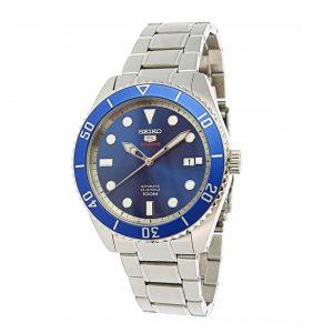 Đồng hồ nam Seiko Series 5 số màu xanh tự động SRPB89