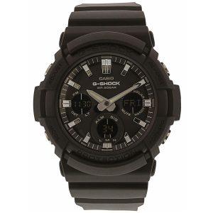Đồng hồ nam Casio G-Shock Alarm World Time Black Dial GAS-100B-1ACR