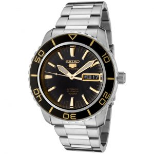 Đồng hồ nam Seiko Fifty Five Fathoms Automatic Black Dial SNZH57