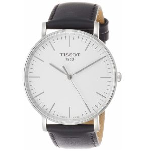Đồng hồ Tissot nam Everytime Silver Dial Leather T1096101603100