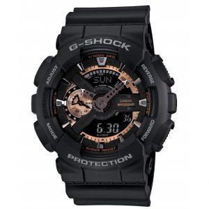 Đồng hồ nam Casio G-Shock Black Dial GA110RG-1A