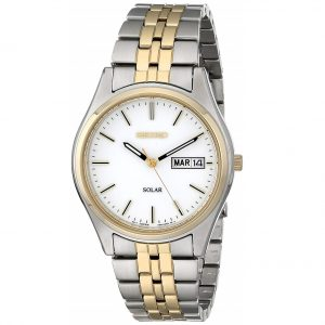 Đồng hồ nam Seiko Solar White Dial SNE032