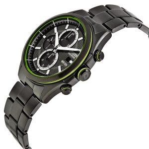 Đồng hồ Citizen nam HTM Black Dial Black Ion-plated CA0435-51E