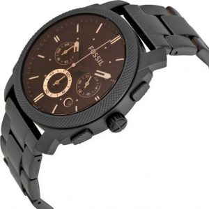Đồng hồ nam Fossil Machine Chronograph Dark Brown Dial FS4682