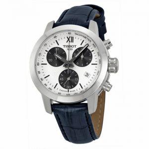 Đồng hồ nữ mặt số trắng Tissot PRC200 Chronograph T0552171603800