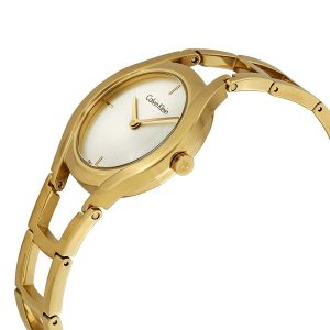 Đồng hồ Ck nữ Class Quartz Silver Dial K6R23526