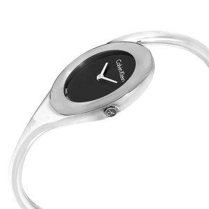 Đồng hồ đeo tay nữ Calvin Klein Embrace Black Dial K4Y2L111