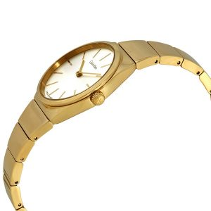 Đồng hồ nữ Calvin Klein Supreme White Dial K6C23546