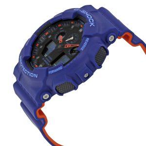 Đồng hồ nam Casio G-Shock Blue Resin GA100L-2A