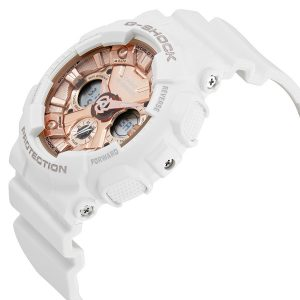 Đồng hồ nữ Casio G-Shock S Series Rose Gold Dial GMAS120MF-7A2