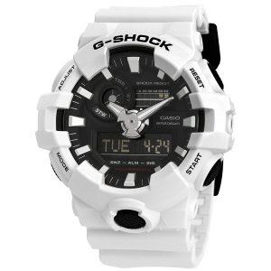 Đồng hồ nam Casio G-Shock World Time Black Dial GA-700-7ACR