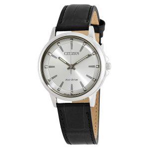 Đồng hồ đeo tay nữ Citizen Chandler Diamond Silver FE7030-14A