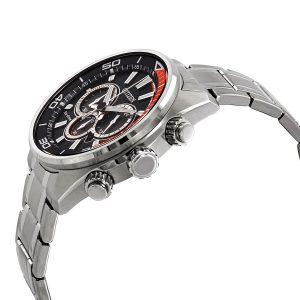 Đồng hồ Citizen Nam Chandler Eco-Drive Chronograph Black Dial CA4330-57E