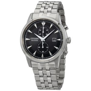 Đồng hồ Citizen nam Corso Black Dial Men's Chronograph CA7000-55E