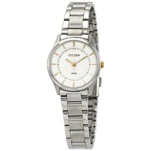 Đồng hồ đeo tay nữ Citizen Quartz Silver Dial ER0201-56B