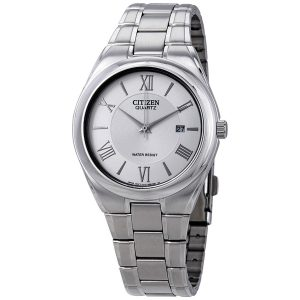 Đồng hồ Citizen nam mặt số bạc model BI0950-51A