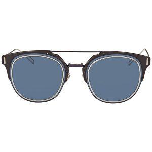 Kính râm Dior Composit Blue Mirror Round DIORCOMPOSIT1.0 E8W / A9 62