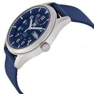 Đồng hồ nam Seiko 5 Sport Automatic Navy Blue Canvas SNZG11