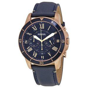 Đồng hồ nam Fographil Grant Sport Blue Dial Chronograph FS5237