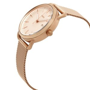 Đồng hồ đeo tay nữ Fossil The Commuter Rose Dial ES4333