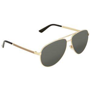 Mắt kính Gucci Gold Aviator GG0137S 002 61