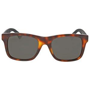 Mắt kính Gucci Havana Square GG0008S-006 53