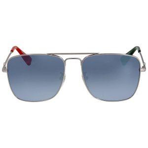 Mắt kính Gucci Silver Square GG0108S 005 55