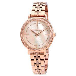 Đồng hồ đeo tay nữ mặt số ngọc trai Michael Kors Cinthia MK3643