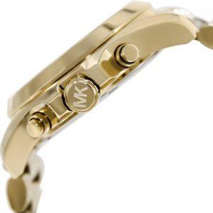Đồng hồ Unisex Michael Kors Bradshaw Chronograph Champagne Dial MK5605