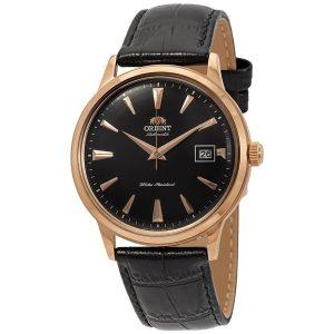 Đồng hồ Orient nam màu đen số tự động Bambino thế hệ thứ 2 FAC00001B0