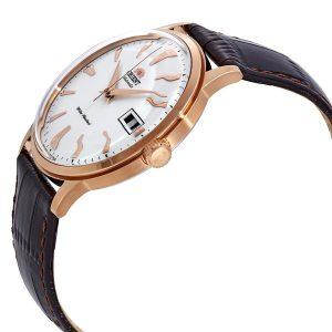 Đồng hồ Orient nam mặt màu trắng Bambino thế hệ 2 FAC00002W0
