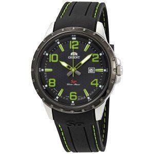 Đồng hồ Orient nam cao cấp Sport Black Dial Black Rubber FUNG3005B