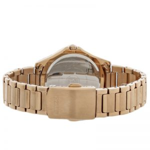 Đồng hồ đeo tay nữ Citizen POV Eco-Drive Rose Gold-tone EM0233-51A