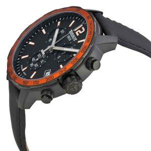 Đồng hồ nam Tissot Quickster Chronograph Black Dial T095.417.36.057.01