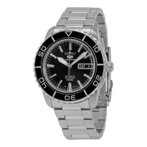 Đồng hồ nam Seiko Fifty Five Fathoms Automatic Black Dial SNZH55