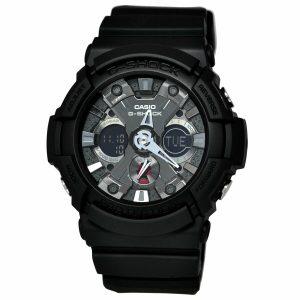 Đồng hồ nam Casio G-Shock Black Dial Resis GA201-1A