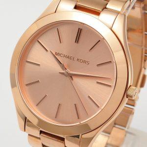 Đồng hồ đeo tay nữ Michael Kors Runway Rose Dial Rose Gold MK3197