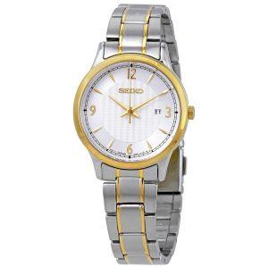 Đồng hồ đeo tay Seiko nữ Classic Silver Dial SXDG94P1