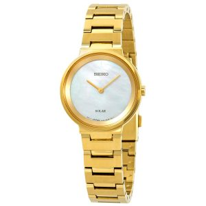 Đồng hồ Seiko nữ Essentials White Mother of Pearl Dial SUP386