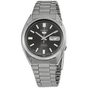 Đồng hồ đeo tay nam Seiko Series 5 Automatic Black Dial SNXS79J1