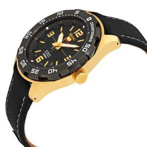 Đồng hồ đeo tay nam màu đen tự động Seiko Series 5 SRPB86